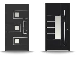 Aluminium-Hautür-Serie Anemone