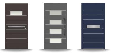 Aluminium-Hautür-Serie Berberis