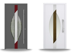 Aluminium-Hautür-Serie Betula