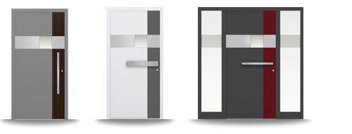 Aluminium-Hautür-Serie Cahellia