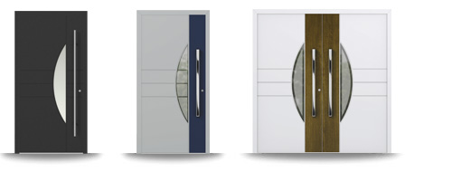 Aluminium-Hautür-Serie Calluna
