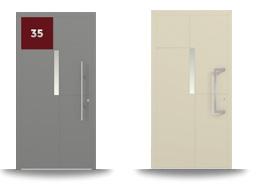 Aluminium-Hautür-Serie Cassiope