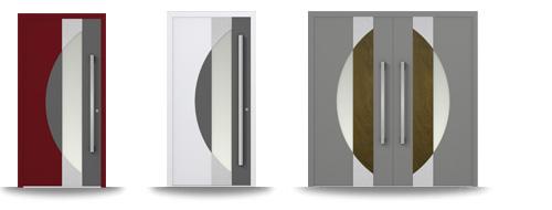 Aluminium-Hautür-Serie Cedrus
