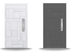 Aluminium-Hautür-Serie Clematis