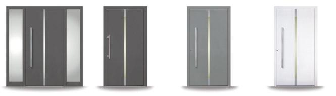 Kunststoff-Haustüren Seria Penda