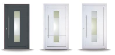 Kunststoff-Haustüren Seria Siena