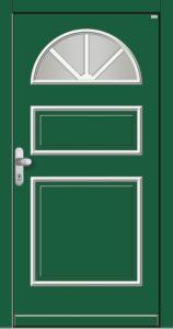 Haustür holz grün  Holz-Haustüren Tischlerei-Schmandin