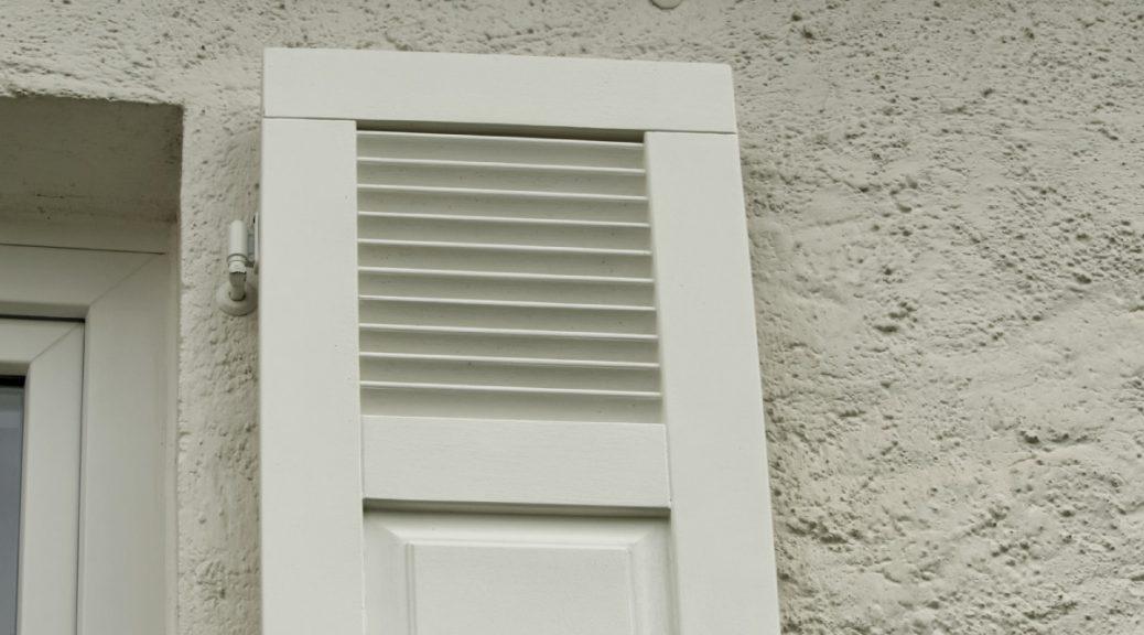 Fensterladen Detail