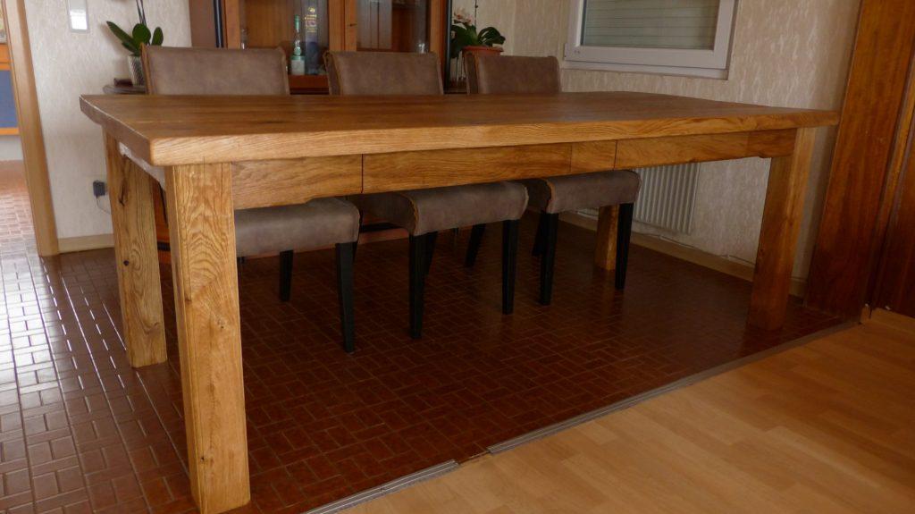 Eichentisch Rustikal Simple Pflege Gebraucht Geolt Tisch